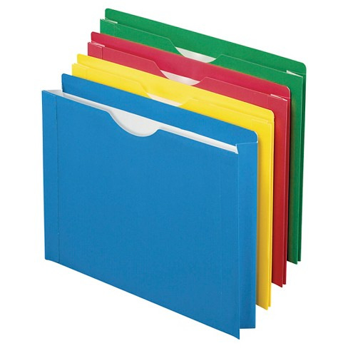 8ct Expanding File Folder Multicolor - Up&Up™ - image 1 of 2