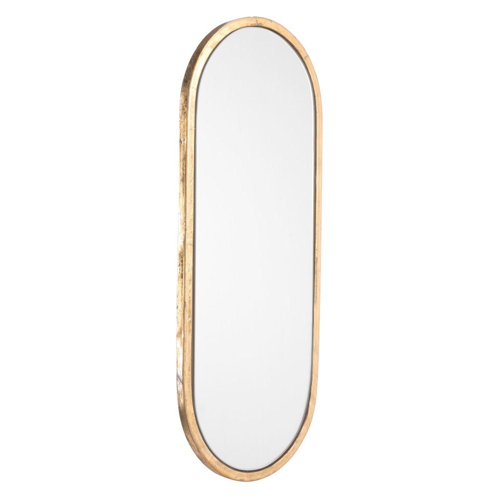 ZM Home 20 Modern Oval Mirror Gold