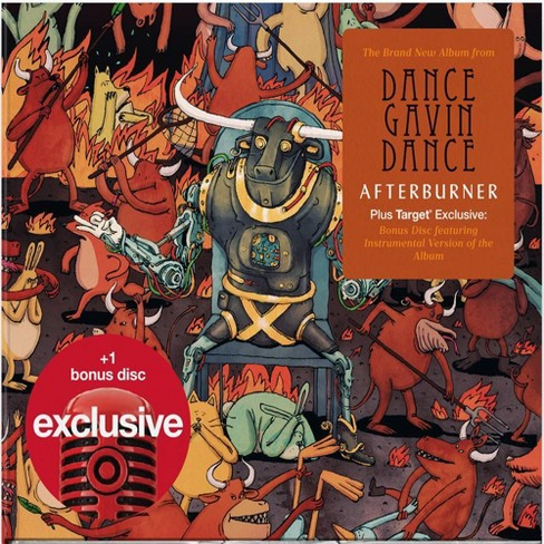 Dance Gavin Dance - Afterburner (Target Exclusive, CD) - image 1 of 1