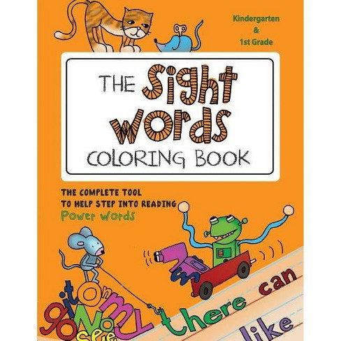 The Sight Words Coloring Book - by  Martina Goulart (Paperback) - image 1 of 1