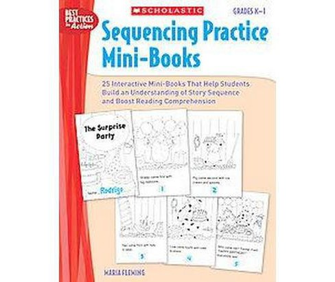Sequencing Practice Mini-books: Grades K-1 (Paperback) - image 1 of 1