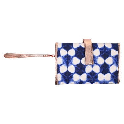 Shibori Changing Pad Clutch - Cloud Island™