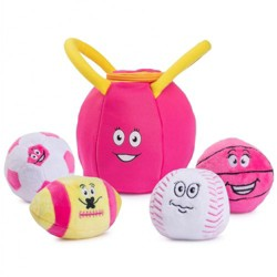 Plush Creations My First Gym Bag and Talking Balls Set