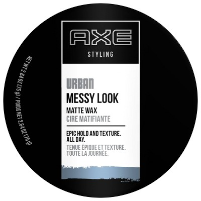 AXE Urban Messy Look Epic Hold Matte Hair Wax - 2.64oz