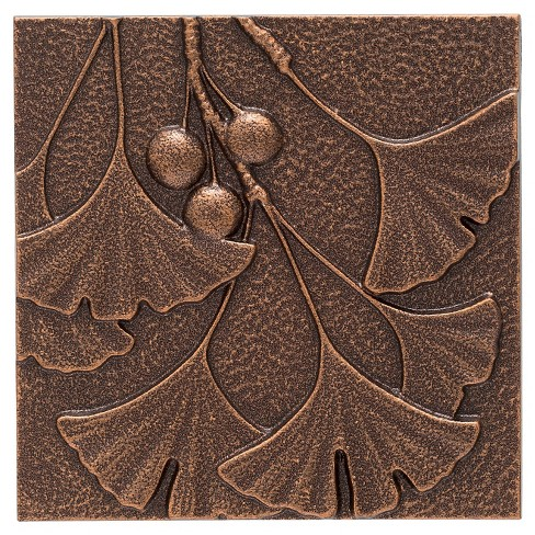 "1"" Gingko Leaf Wall Décor - Antique Copper - Whitehall Products - image 1 of 1"