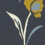 Whisp Floral Navy Ochre