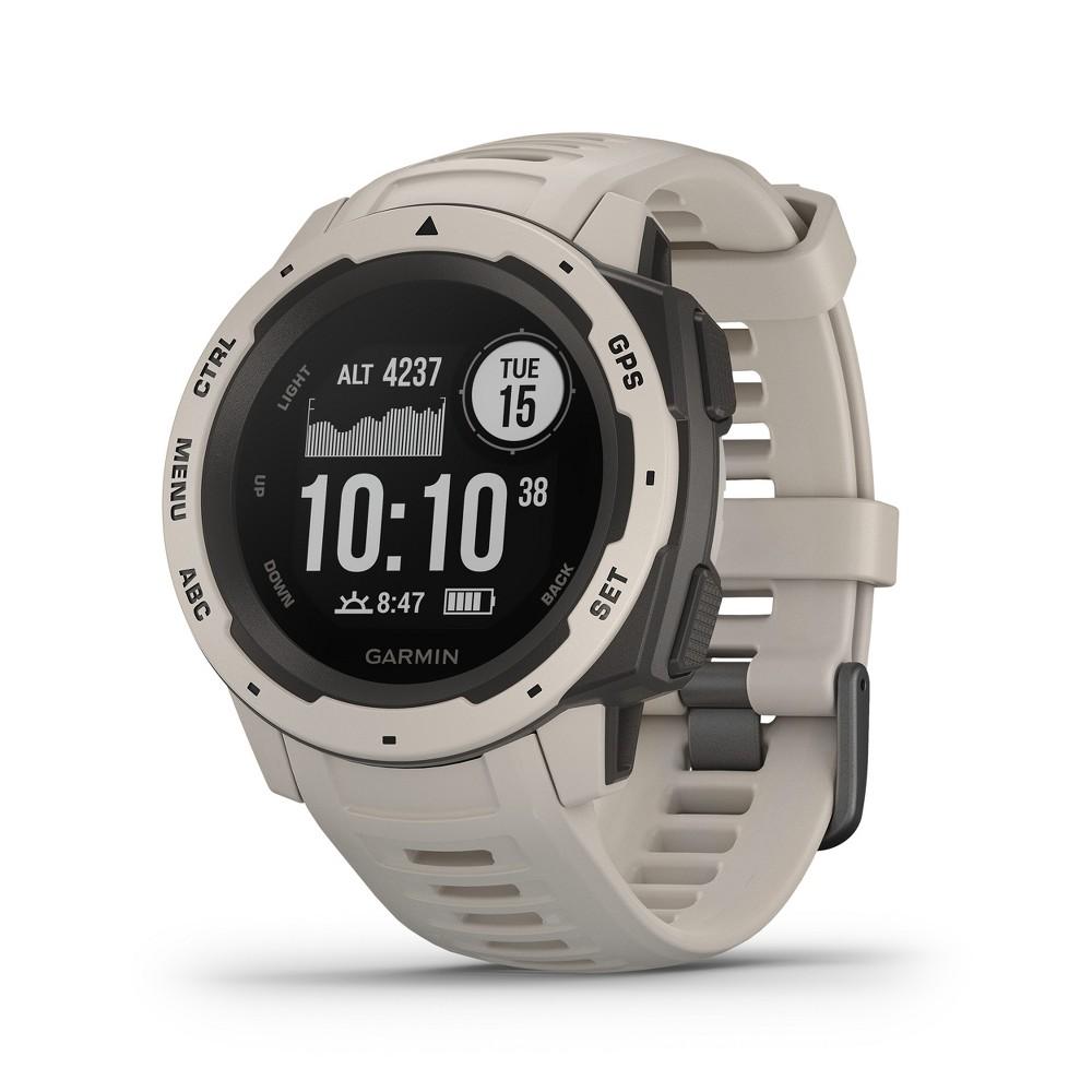 Garmin Instinct Rugged GPS Smartwatch - Tundra