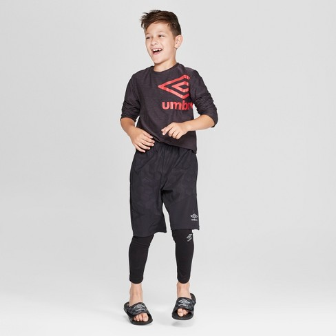 f9b3406e1c1d5d Umbro Boys' Compression Leggings : Target
