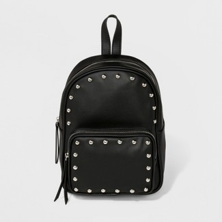 Backpack With Studs - Wild Fable™ Black