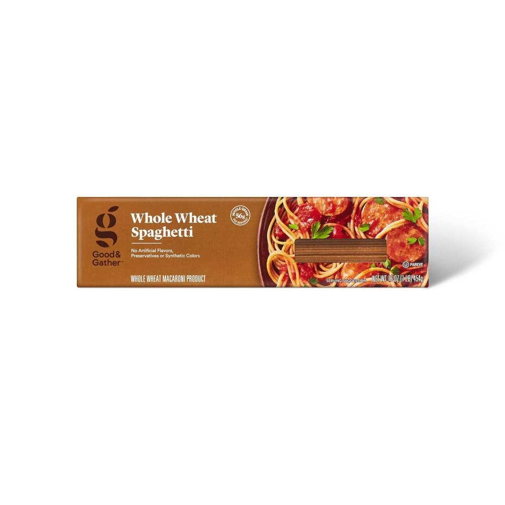 Whole Wheat Spaghetti - 16oz - Good & Gather