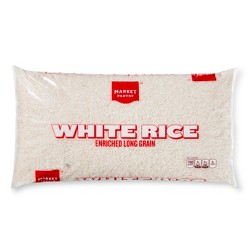 Enriched Long Grain White Rice - 5lbs - Market Pantry™