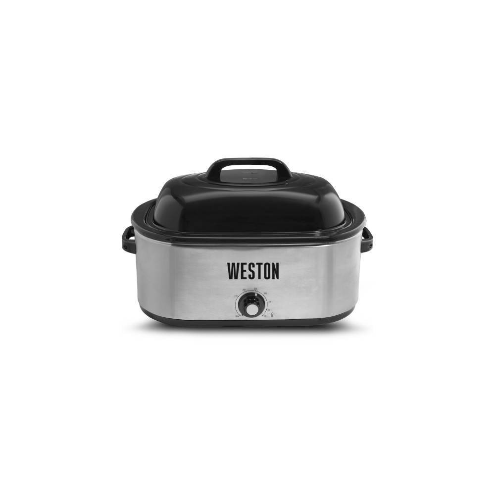 Image of Weston 22qt Roaster Oven - Silver
