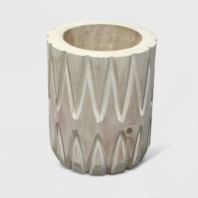 10  Textured Wood Planter - Opalhouse™