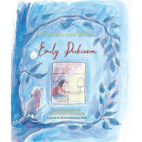 Poetry for Kids: Emily Dickinson - (Hardcover) - image 1 of 1