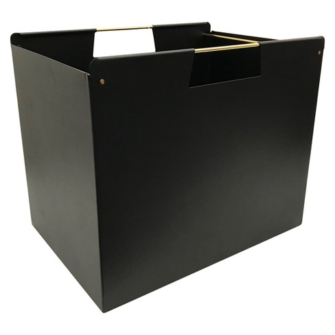 Metal File Box Black - Project 62™ - image 1 of 2