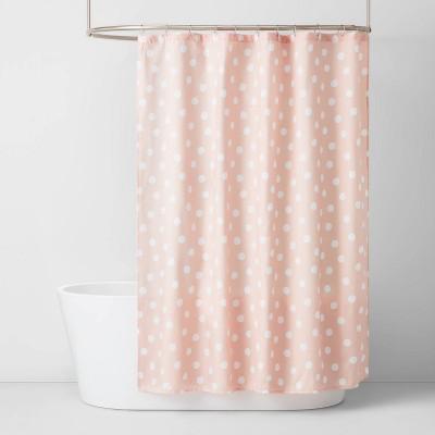 Pink Dot Shower Curtain - Pillowfort™