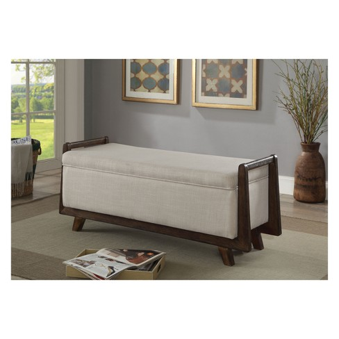 Iohomes Menzel Contemporary Storage Bench - HOMES: Inside + Out - image 1 of 4