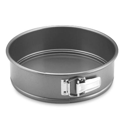 """Anolon Advanced Bakeware 9"""" Nonstick Springform Pan Gray"""