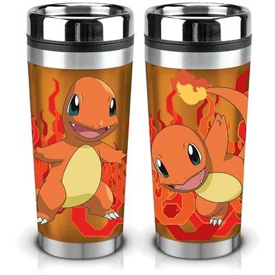 Just Funky Pokemon Charmander 16oz Travel Mug