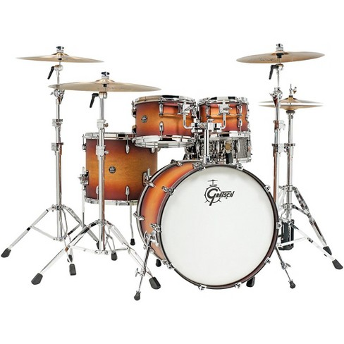 Gretsch Drums Renown 4-Piece Shell Pack Satin Tobacco Burst - image 1 of 4
