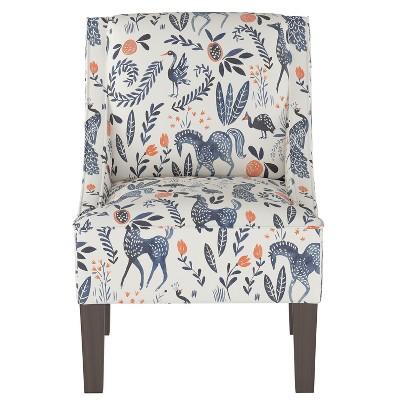 Hudson Swoop Armchair Animal Print - Threshold™