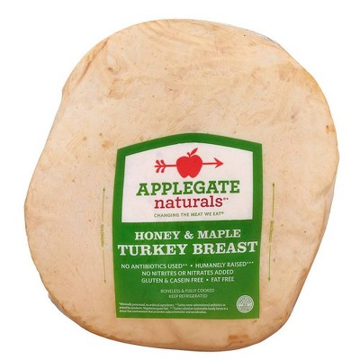 Applegate Naturals Honey & Maple Turkey Breast - Deli Fresh Sliced - price per lb