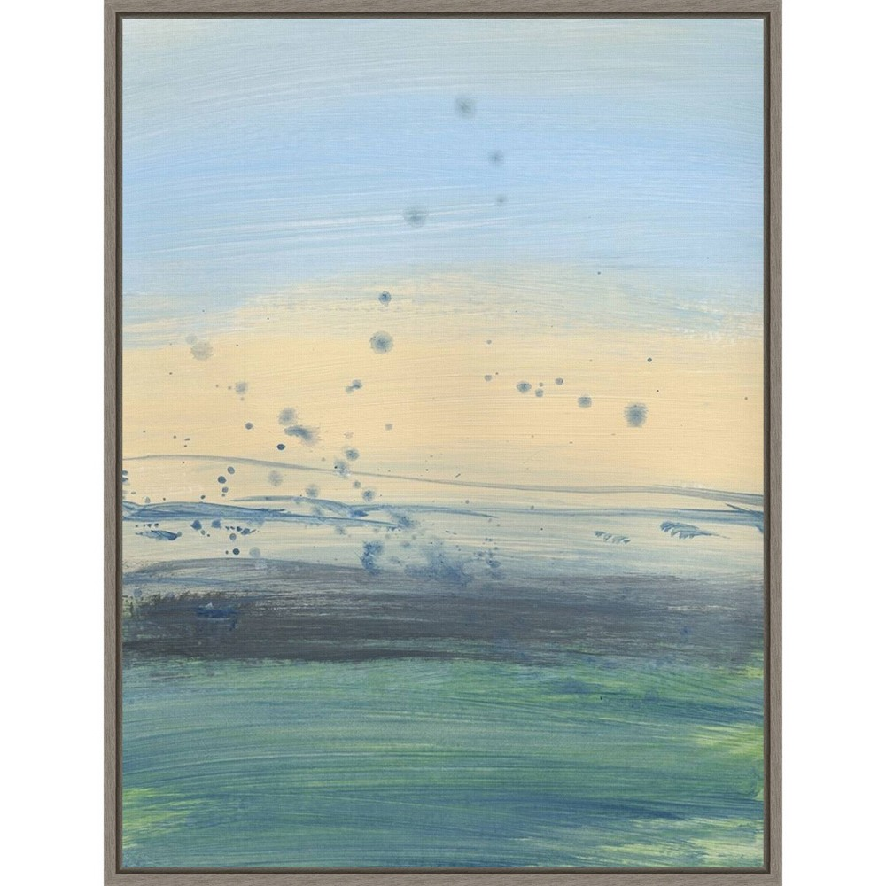 18 34 X 24 34 Soul Of The Ocean No 1 By Bronwyn Baker Framed Canvas Wall Art Amanti Art