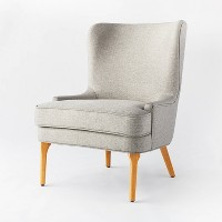 Deals on Threshold Cheswold Wingback Chair