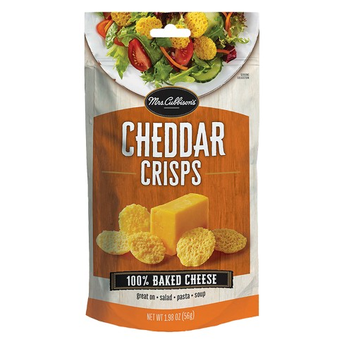Mrs. Cubbison's Cheddar Baked Cheese Crisps - 1.98oz - image 1 of 1