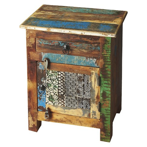 Storage Cabinet Rustic Brown - Butler Specialty - image 1 of 2