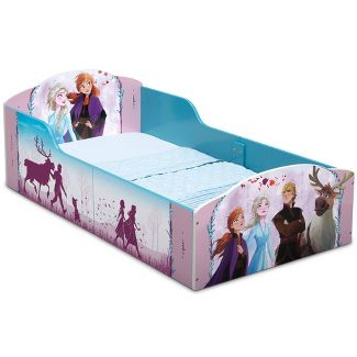 Toddler Disney Frozen 2 Wood Bed - Delta Children