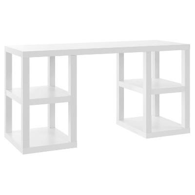 George Deluxe Computer Desk - White - Room & Joy