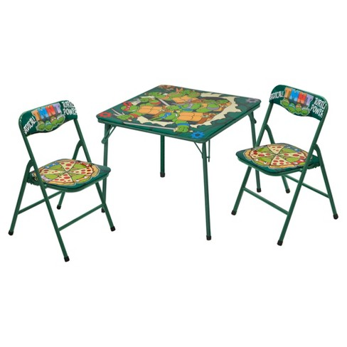 TMNT Retro 3-PC Table and Chair Set - image 1 of 1