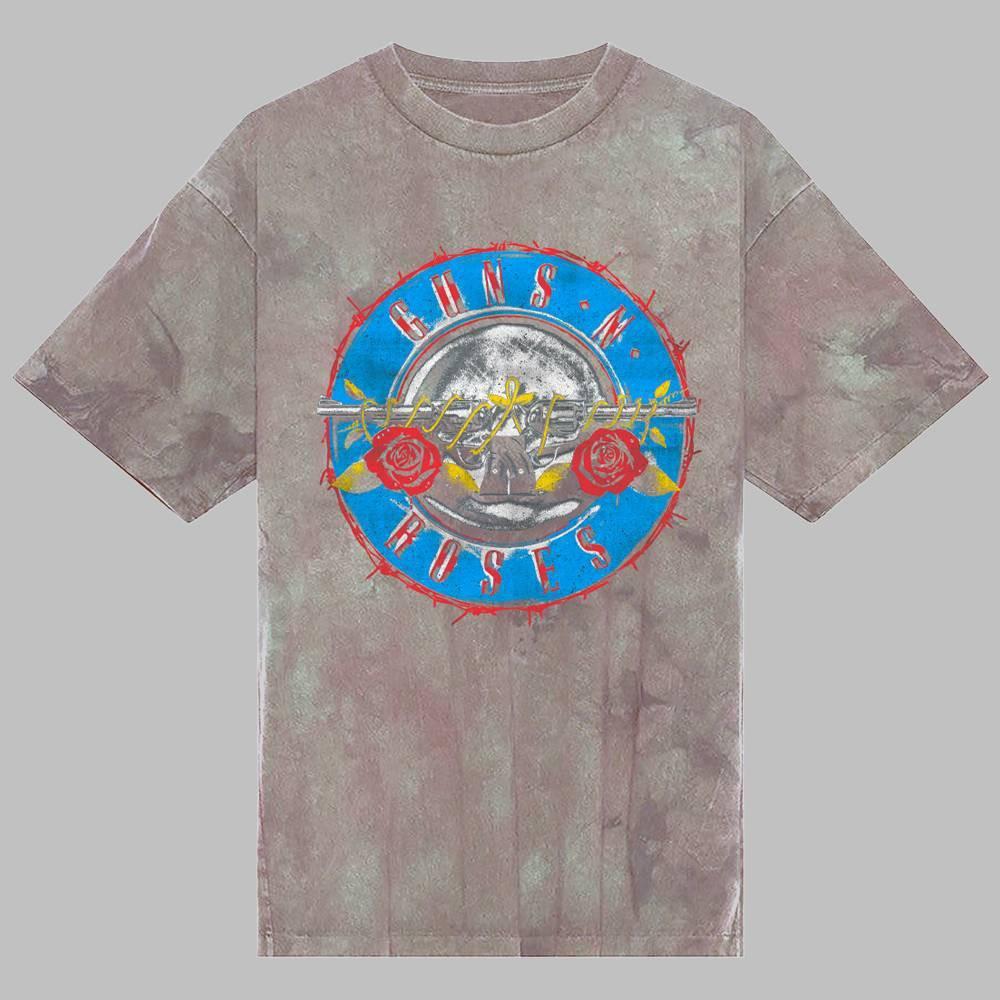 Men 39 S Guns N 39 Roses Short Sleeve Graphic Crewneck T Shirt Gray 2xl