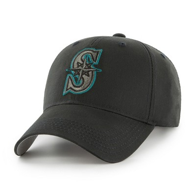 MLB Seattle Mariners Classic Black Adjustable Cap/Hat by Fan Favorite