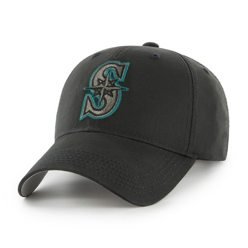 MLB Seattle Mariners Classic Black Adjustable Cap/Hat by Fan Favorite - image 1 of 2