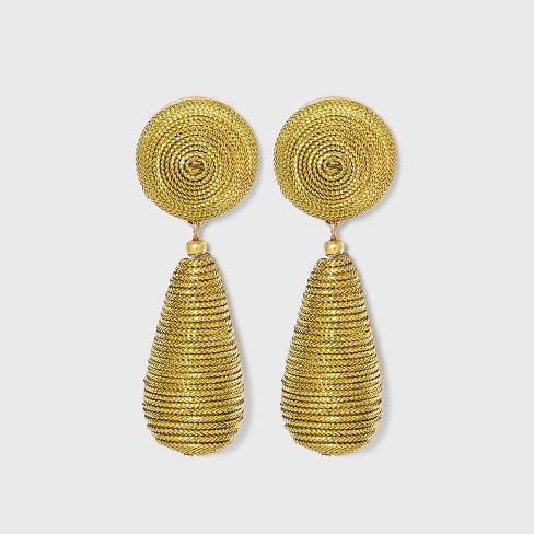 SUGARFIX by BaubleBar Monochrome Bead Drop Earrings - image 1 of 2