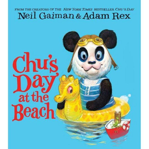 Chu's Day at the Beach Board Book - by  Neil Gaiman (Board_book) - image 1 of 1