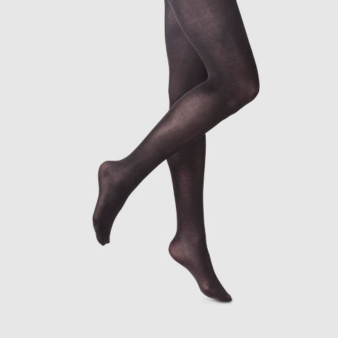 1cf5907ce Women s 50D High Waist CT Opaque Tights Socks - A New Day™ Black M L ...