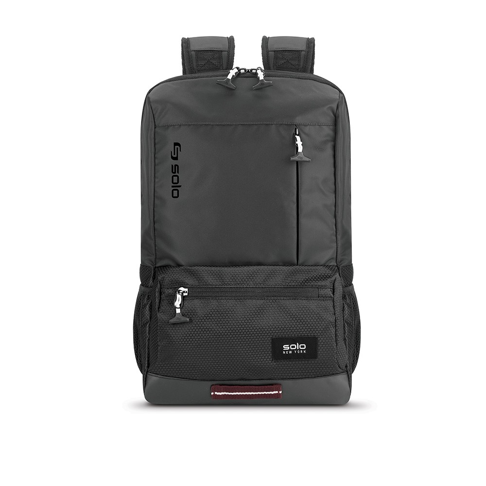 "Image of ""Solo 18"""" Draft Backpack - Black"""