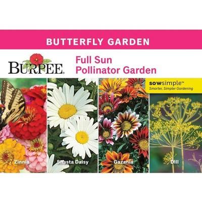 Burpee Butterfly Full Sun Pollinator Garden
