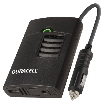 Duracell 150W Portable Inverter with AC outlet and 2.1 Amp USB port