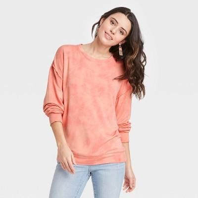 Women's Ruffle Detail Sweatshirt - Knox Rose™