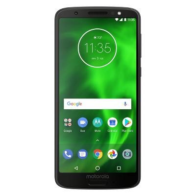 Motorola G6 32GB Smartphone (Universal Unlocked) - Black