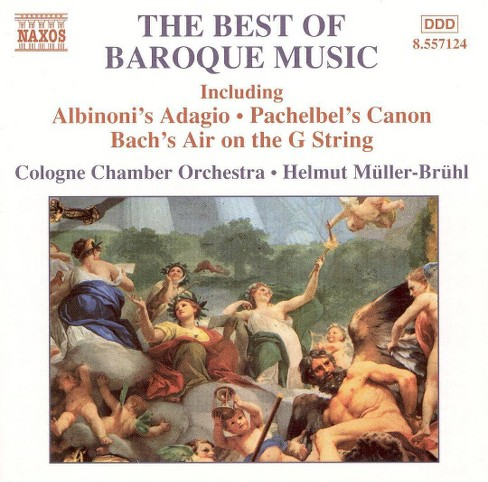 Helmut muller-bruhl - Best of baroque music (CD) - image 1 of 1