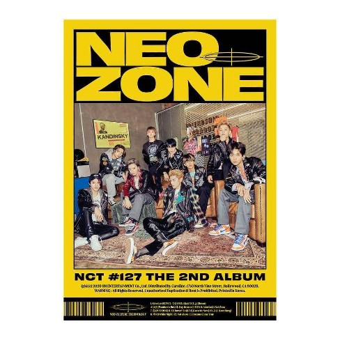 NCT 127 - NCT #127 Neo Zone (N Ver.) (CD) - image 1 of 1