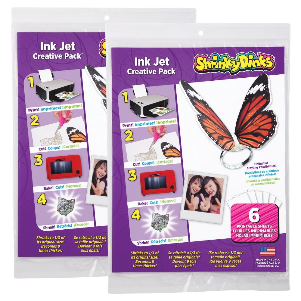 Shrinky Dinks for Ink Jet Printers 12 Sheet Pack
