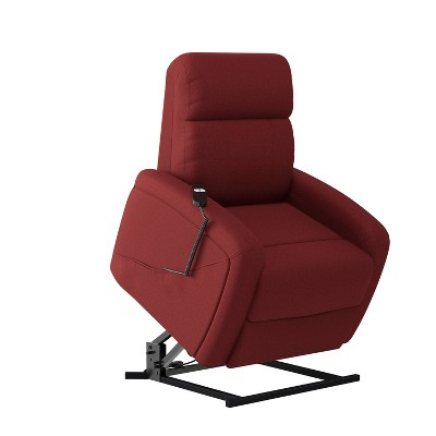 Cam Infinite Position Power Recline and Lift Chair Plush Low Pile Velour - ProLounger