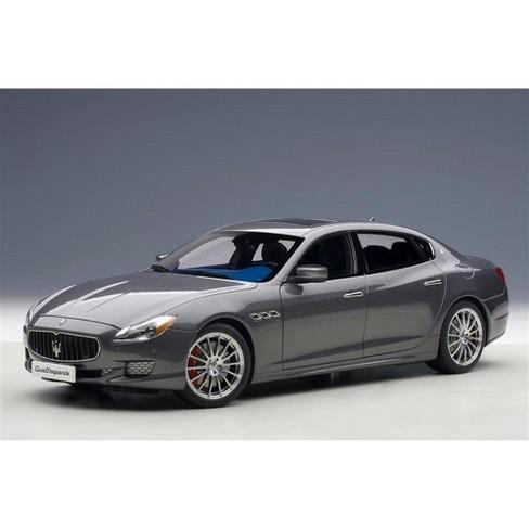2015 Maserati Quattroporte GTS Maratea Grey 1/18 Diecast Model Car by AutoArt - image 1 of 4
