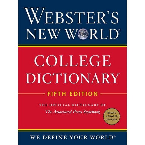 Webster S New World College Dictionary Fifth Edition Hardcover